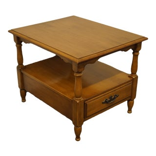 Thomasville Furniture Post Road Collection Accent Table For Sale