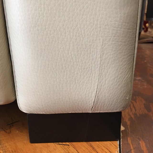 American Leather for Room & Board Convertible Sofa - Image 9 of 10