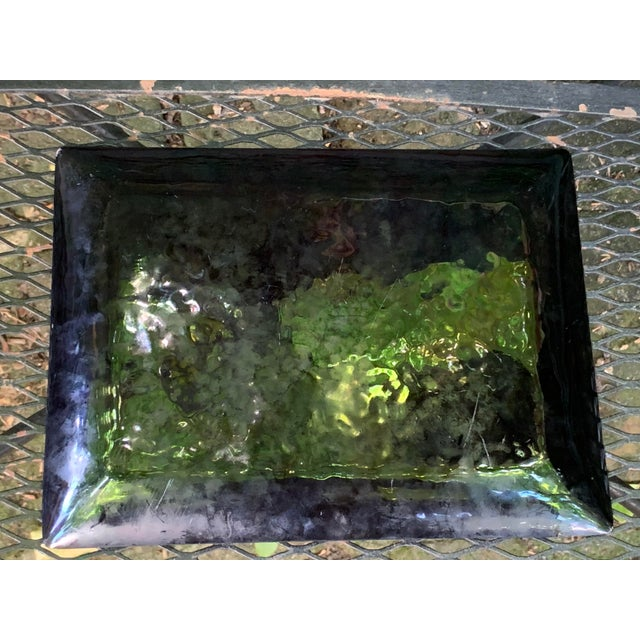 Late 20th Century Vintage Enameled Cherry Blossom Tray For Sale - Image 5 of 7