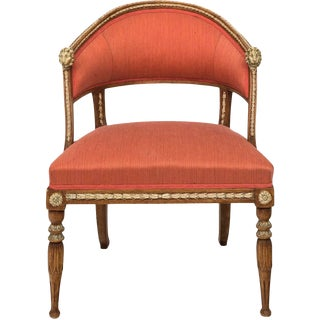 Gustavian Tub Chair For Sale