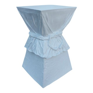 John Dickinson Attribute Plaster Pedestal