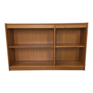 Danish Modern Cherry Bookcase For Sale