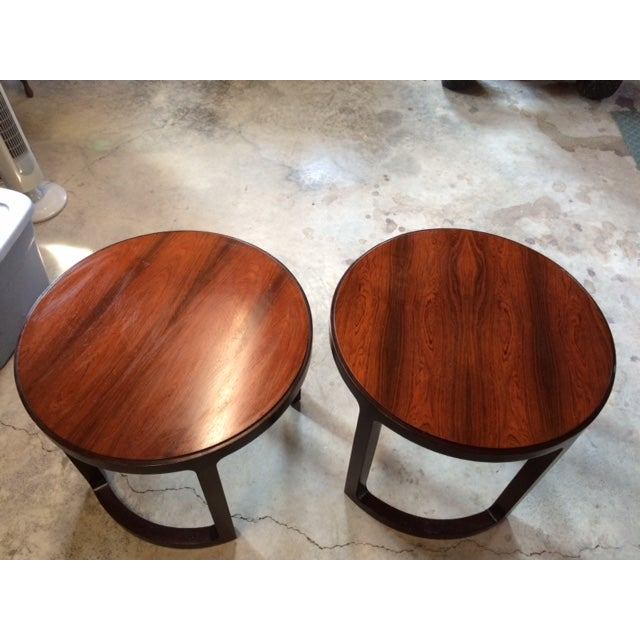 Edward Wormley Dunbar End Tables - Pair - Image 2 of 7