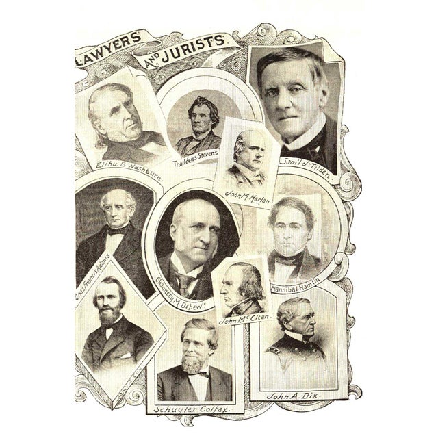 """Booth & Williams 1894 """"Portraits/Principles of Great Men/Women"""" Collectible Book For Sale - Image 4 of 5"""