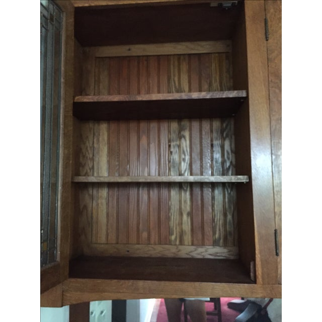 Craftsman Wall Cabinet - Image 6 of 9