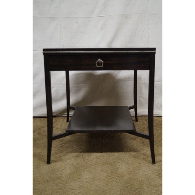 Jonathan Charles 1 Drawer Directoire End Table - Image 2 of 10