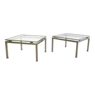 Pair of Side Tables by Guy Lefevre for Maison Jansen, France, 1970s For Sale