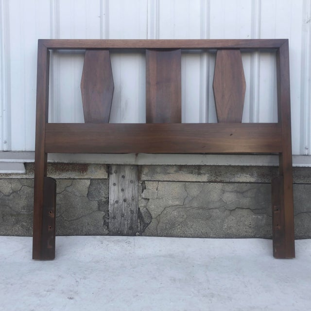 Mid-Century Twin Size Headboard For Sale - Image 13 of 13