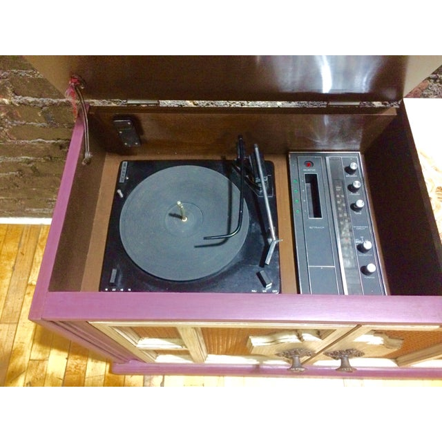 Vintage Radio Console For Sale - Image 9 of 10