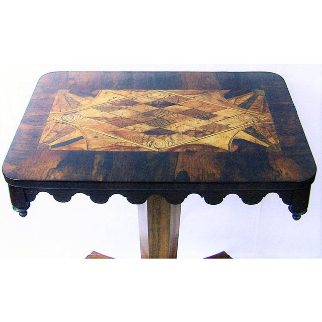Early 19th Century 19c British William IV Colonial Specimen Wood Side Table - Important For Sale - Image 5 of 12