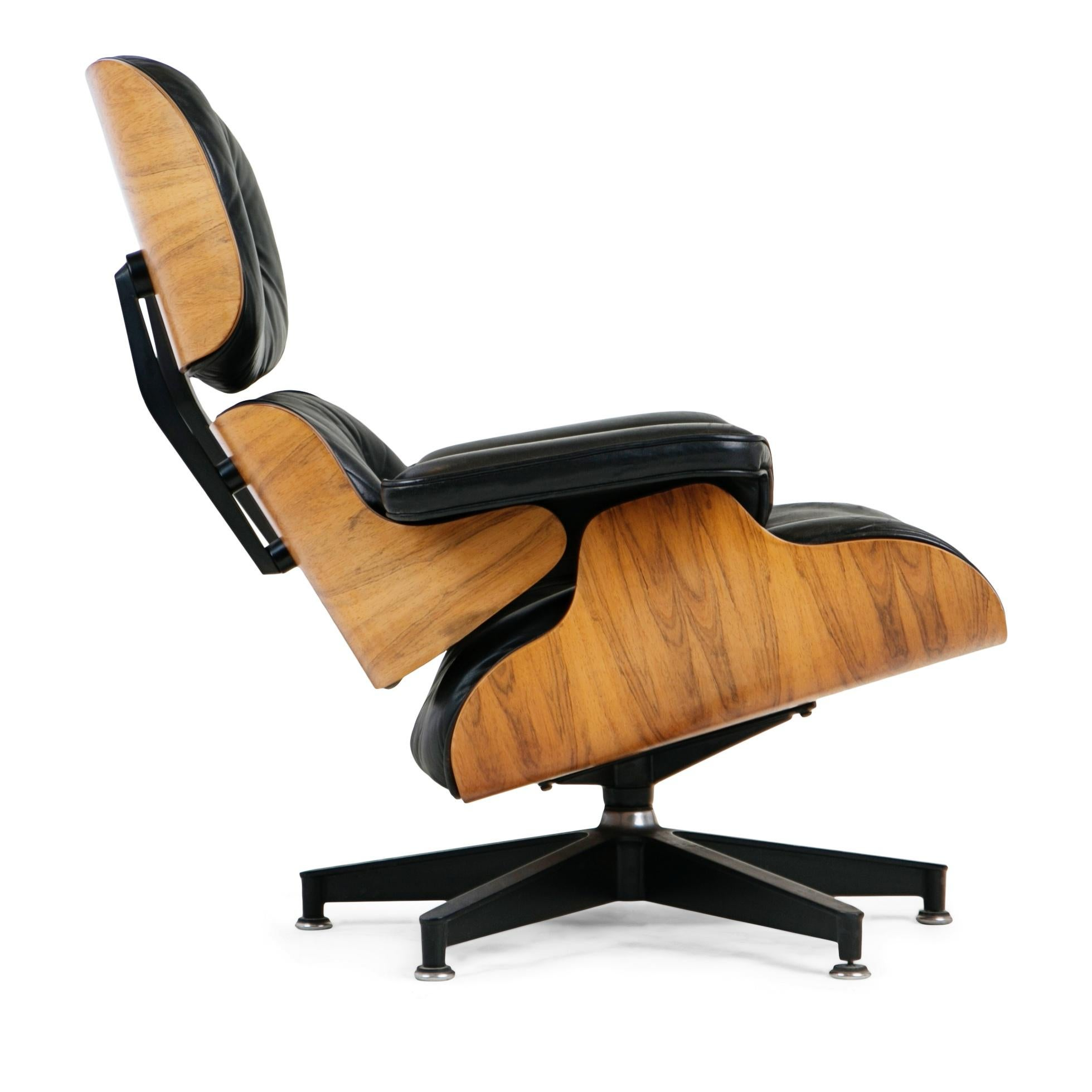 Herman Miller Charles U0026 Ray Eames Lounge Chair And Ottoman For Herman Miller,  Circa 1980
