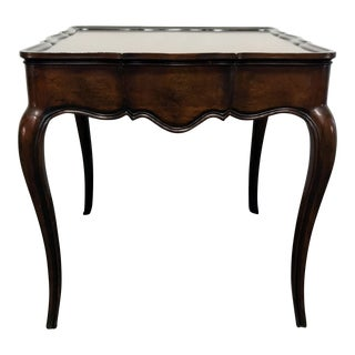 Wellington Hall Solid Mahogany French Country Accent End Lamp Table