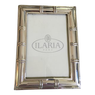 Sterling Silver Bamboo Design Ilaria Picture Frame