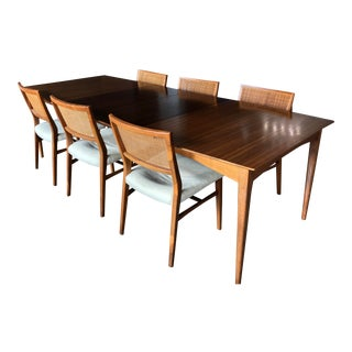 Drexel Heritage Mid Century Dining Set For Sale
