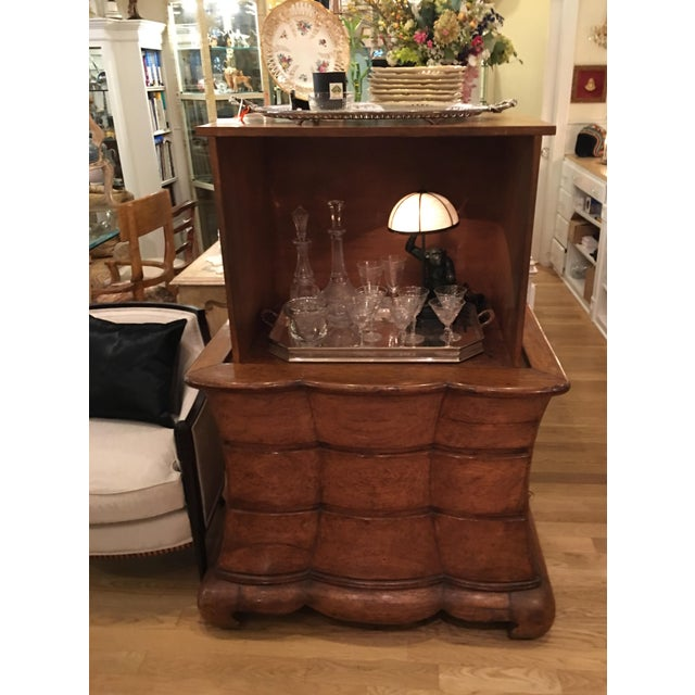 Rose Tarlow Dutch Commode TV Cabinet / Cocktail Bar For Sale - Image 5 of 6