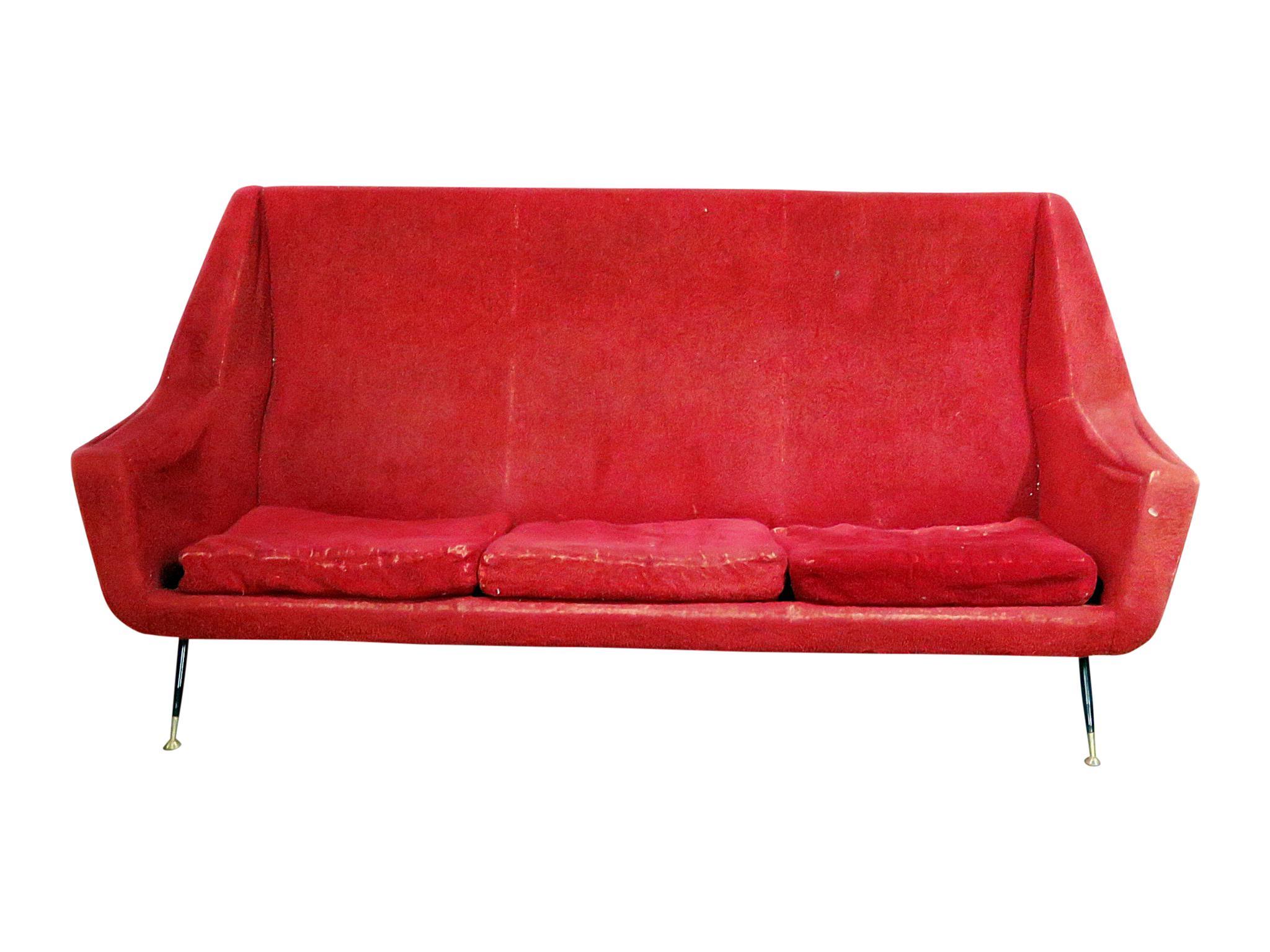 Superb Mid Century Modern Sofa Decaso