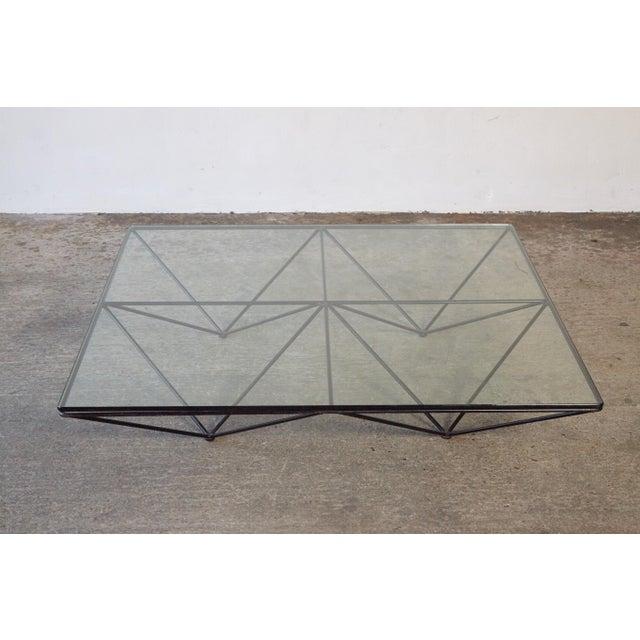 Paolo Piva Alanda Geometric Glass Coffee Table for B&b Italia, 1980s, Italy For Sale - Image 10 of 13