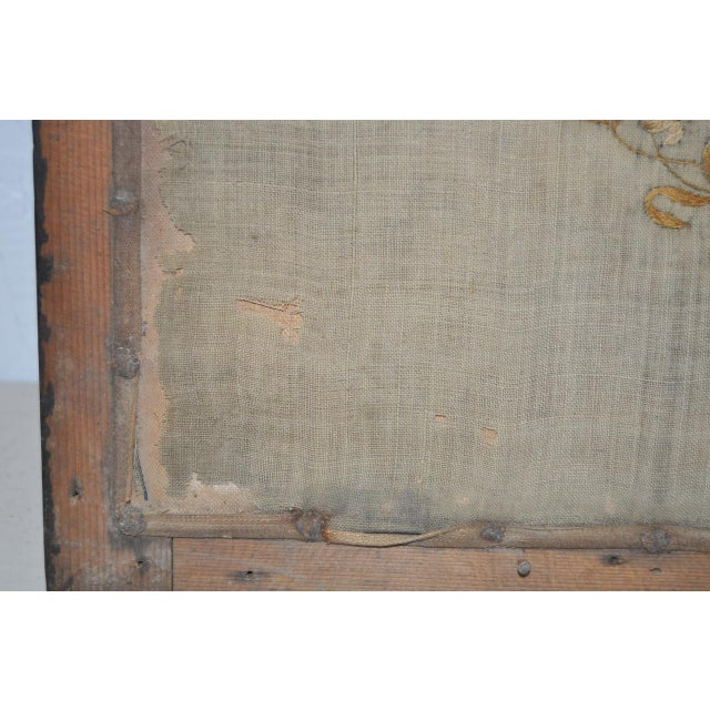 Tan Early 19th Century Map of England and Wales Sampler For Sale - Image 8 of 10