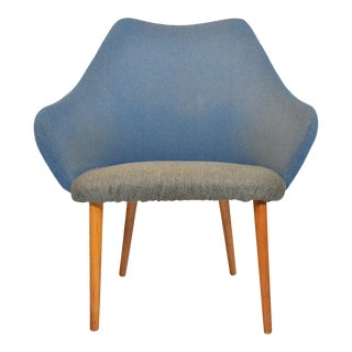 Danish Modern Scoop Lounge Chair For Sale