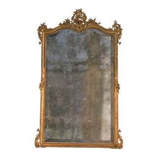19th Century Mirror in the Style of Louis XV