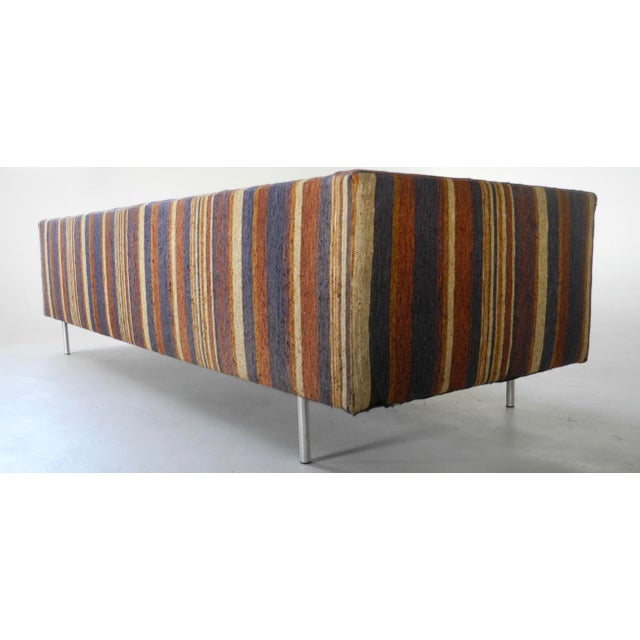 Mid-Century Modern Milo Baughman for Directional Tuxedo Sofa For Sale - Image 3 of 9