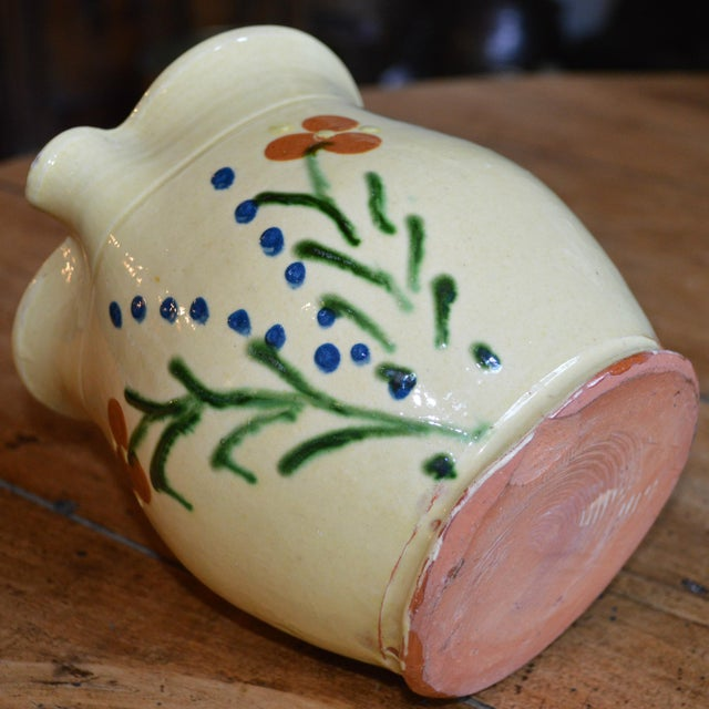 French Terracotta Pitcher For Sale - Image 4 of 4