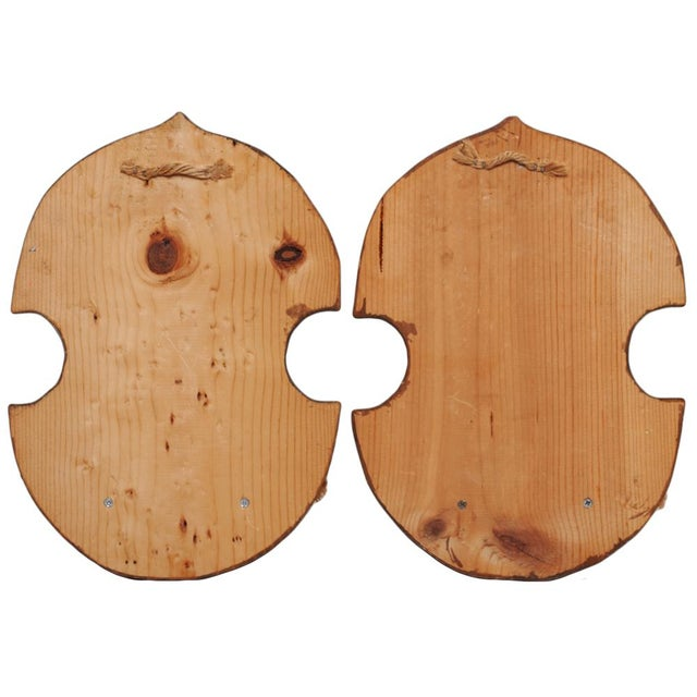 Pair of Japanese Style Wood Brackets, C. 1960s - Image 9 of 10