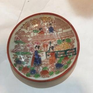 Vintage Japanese Porcelain Teacup & Dish - A Pair Preview
