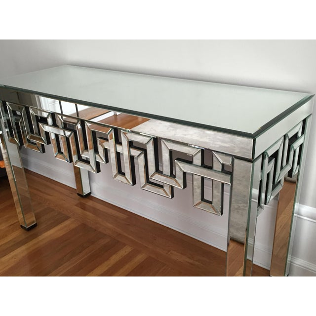 Mirrored Designer Console Table - Image 7 of 7