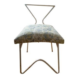 Mid Century Metal Chair For Sale