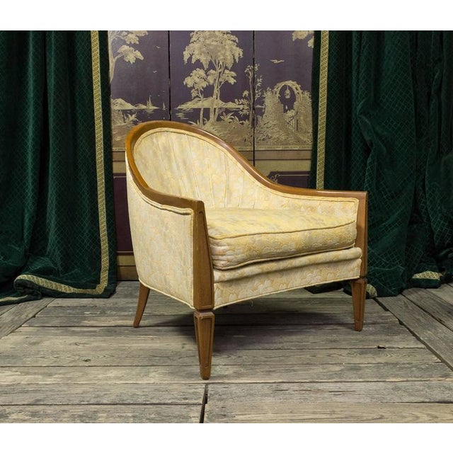 Pair of French, 1950s Rounded Armchairs - Image 3 of 11