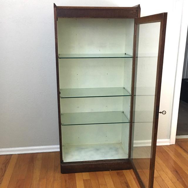 Antique Oak Medical Cabinet For Sale - Image 4 of 8