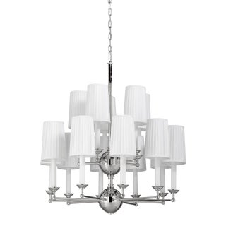 Jermyn Street Chandelier, Double Tier For Sale
