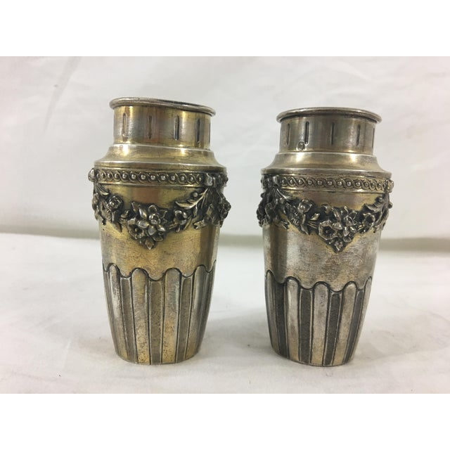 This pair of Napoleon III vases date from the 1870's and are in good condition. They would be lovely bud vases or sweet...