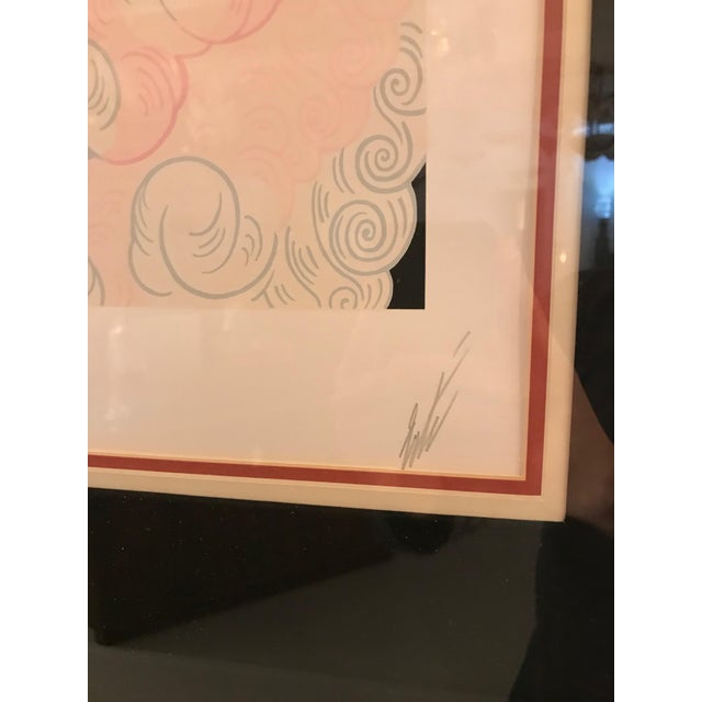 Erte 'French, 1892-1990' the Trapeze For Sale - Image 9 of 11