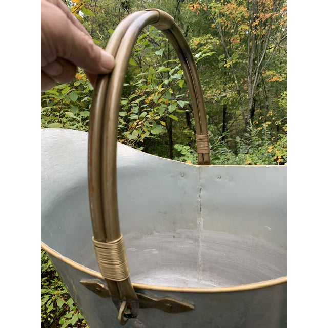 1910s Antique Bathtub Water Scuttle, 10 Gallons For Sale - Image 5 of 13