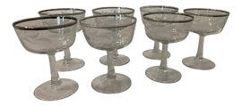 Image of Etching Champagne Coupes