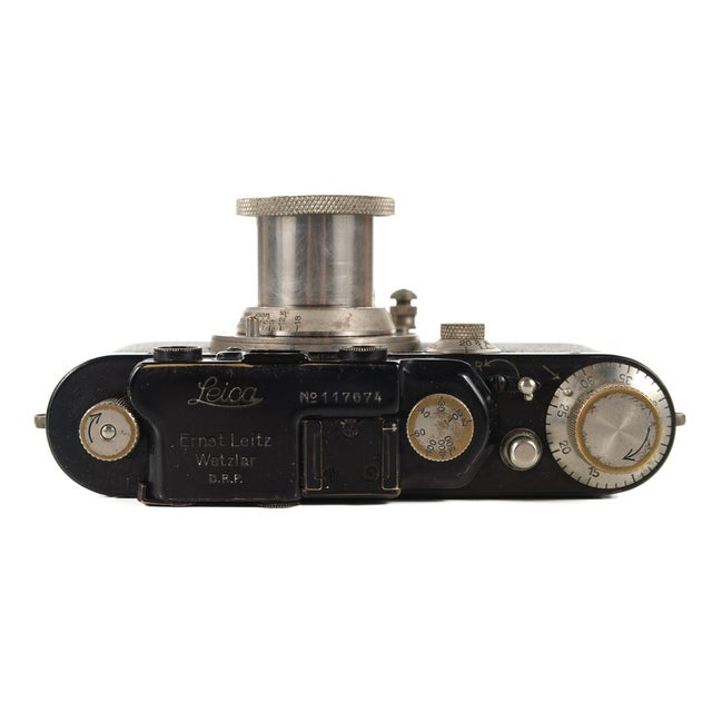 1930s Leica III Black Camera With 5cm Elmar Lens - Image 9 of 10