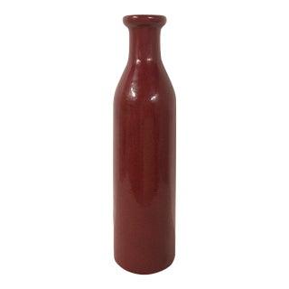 Large Chinese Oxblood Decorative Vase