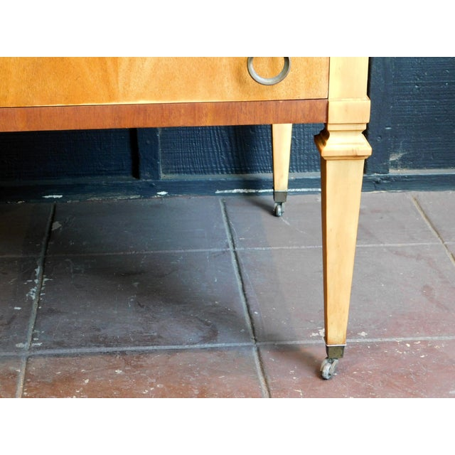 1960s Classic Wooden End Table For Sale - Image 10 of 11