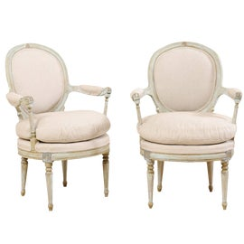Image of Floral Accent Chairs