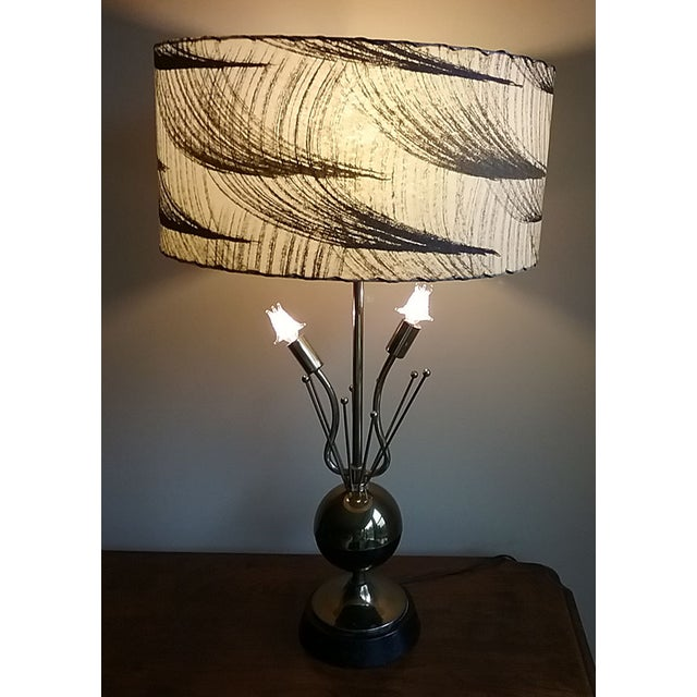 1950s Atomic Table Lamp - Image 2 of 5