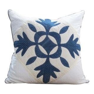 Antique Quilt Pillow For Sale