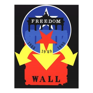 Robert Indiana-the Wall-1997 Serigraph