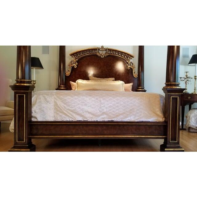 Traditional Henredon Arabesque Bedframe For Sale - Image 11 of 13