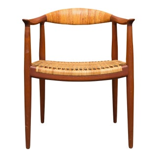 """Hans Wegner """"The Chair"""" Johannes Hansen For Sale"""