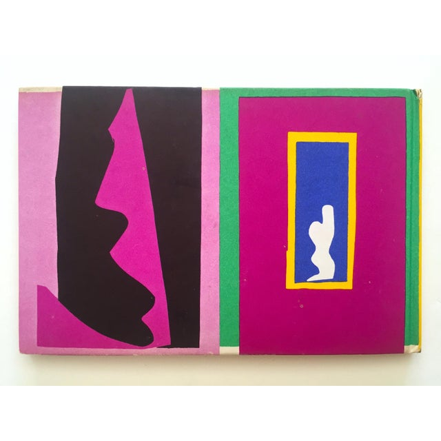 "Henri Matisse "" Jazz "" Rare 1st Edition Vintage 1960 Lithograph Print Museum of Modern Art Collector's Hardcover Art Book For Sale - Image 12 of 13"