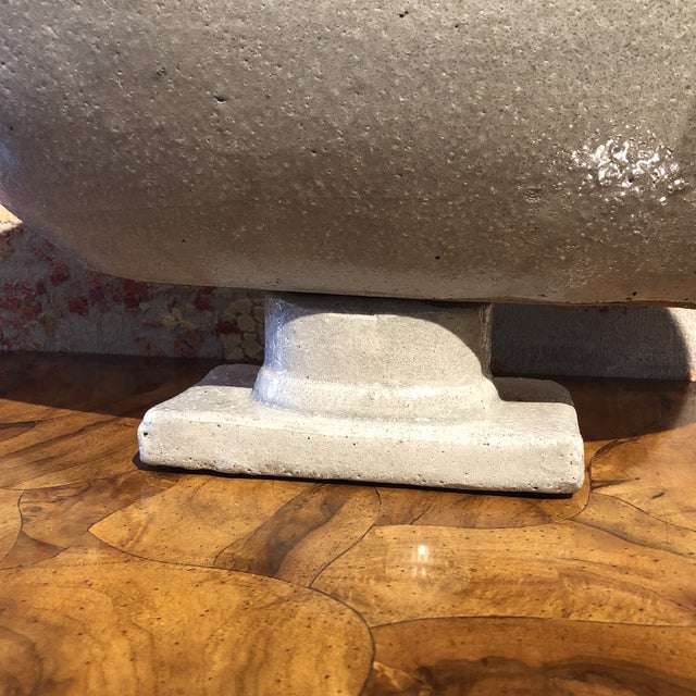 Boat Shaped Table Top Urn For Sale - Image 4 of 8