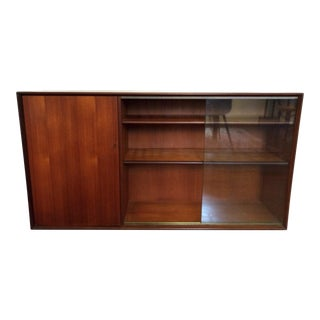 20th Century Danish Modern Media Console/Record Case/Display Cabinet For Sale
