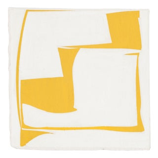 """Joanne Freeman """"Covers 13 - Yellow"""", Painting For Sale"""